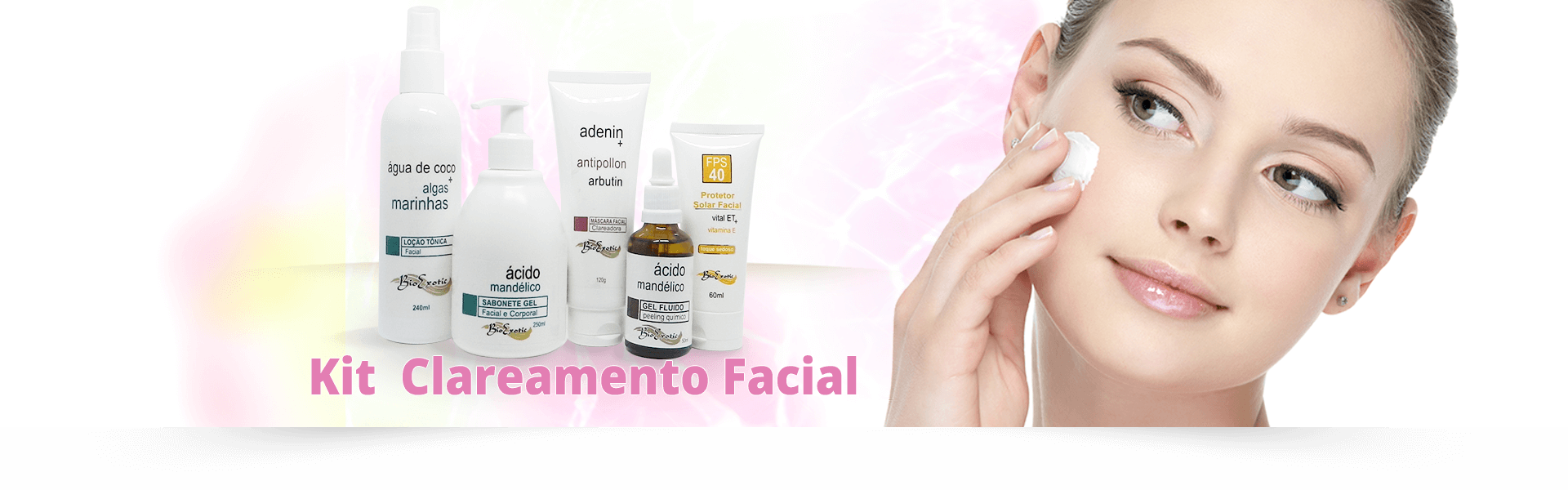 Kit para Clareamento Facial