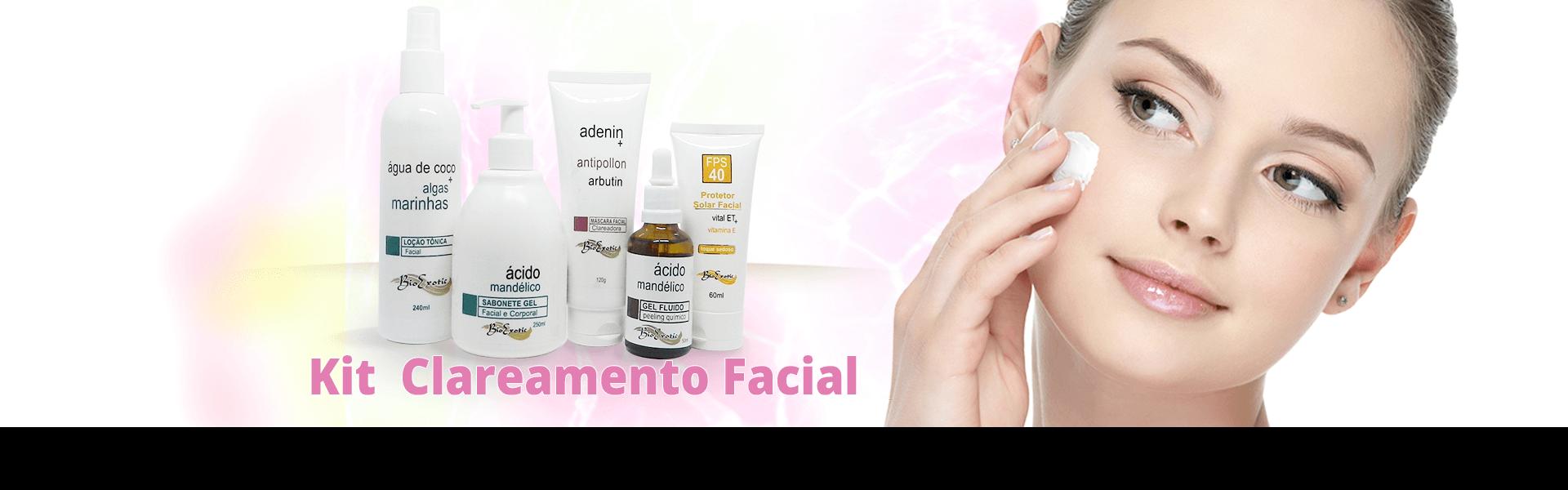 Kit para Clareamento Facial