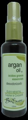 Óleo Vegetal de Argan Desodorizado - Corporal e Capilar 120 ml Bioexotic
