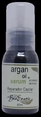 Serum Reparador Capilar com Óleo de Argan e Proteção Térmica 60ml Bioexotic