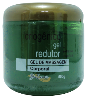 Gel de Massagem Criogênico Redutor com Extratos Vegetais 500g Bioexotic