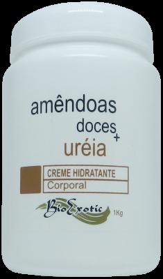 Creme Hidratante Corporal com Uréia e Óleo Amendoas Doces 1Kg Bioexotic