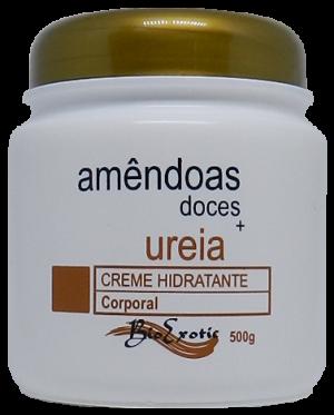 Creme Hidratante Corporal com Uréia e Óleo de Amendoas Doces 500g Bioexotic