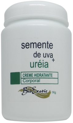 Creme Hidratante Corporal com Uréia e Óleo Semente de Uva 1Kg Bioexotic