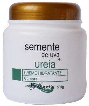 Creme Hidratante Corporal com Uréia e Óleo Semente de Uva 500g Bioexotic