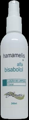 Loção para Limpeza Facial com Hamamelis e Alfa bisabolol 240ml Bioexotic
