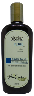 Shampoo Pós Piscina e Praia com Algas Marinhas 250ml Bioexotic