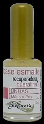 Base Recuperadora para Unhas com Queratina 10ml Bioexotic