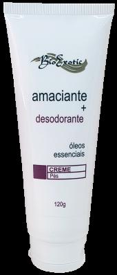 Creme Amaciante e Desodorante para os Pés com Óleos Essenciais 120g Bioexotic