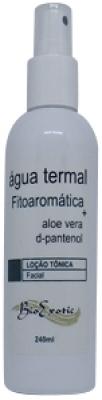 Água Termal Fitoaromática Facial com Aloe Vera e D'Pantenol 240ml Bioexotic