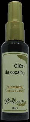 Óleo Vegetal de Copaíba - Corporal e Capilar 120ml - Bioexotic