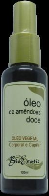Óleo Vegetal de Amêndoas Doce - Corporal e Capilar 120 ml Bioexotic