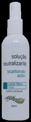 Solução Neutralizante de Ácidos com Bicarbonato Sódio 240 ml Bioexotic