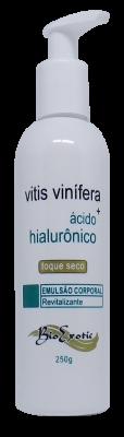 Emulsão Revitalizante Corporal com Vitis Vinifera e Ácido Hialurônico 250g Bioexotic