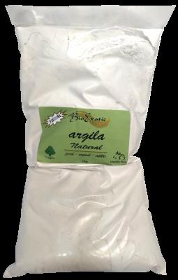 Argila Branca Vegano 1kg Bioexotic
