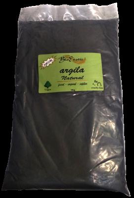 Argila Preta Vegano 1kg Bioexotic