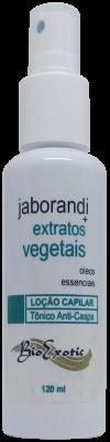 Loção Capilar Fitoestimulante com Jaborandi, Extratos Vegetais e Óleos Essenciais 120ml Bioexotic