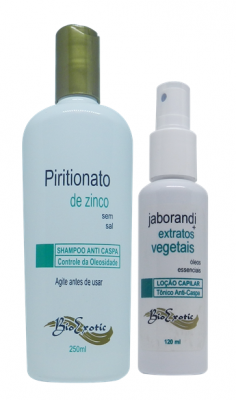 Kit Capilar Anti-Queda e Anti-Caspa Bioexotic