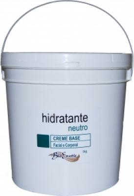 Creme Base Hidratante Neutro - Facial e Corporal (Polawax) 5 Kg Bioexotic