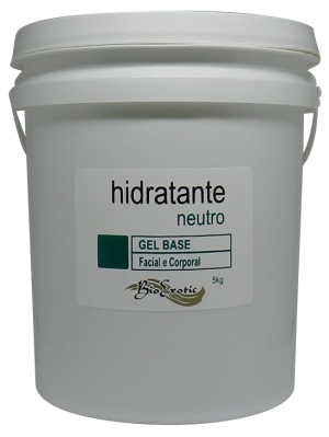 Gel Base Hidratante Neutro -  Facial e Corporal 5Kg Bioexotic