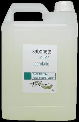 Sabonete Base Neutra Líquido Perolado - Facial, Capilar e Corporal 5L Bioexotic