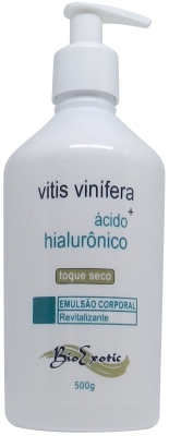 Emulsão Revitalizante Corporal com Vitis Vinifera e Ácido Hialurônico 500g Bioexotic