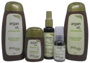 Kit Terapia Capilar - Hidratação e Restauração dos Fios - Argan Oil - Bioexotic