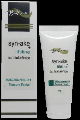 Máscara Facial Peel Off Tensora com Syn Ake (Veneno De Cobra), Ácido Hialurônico e Liftiline 60g Bioexotic