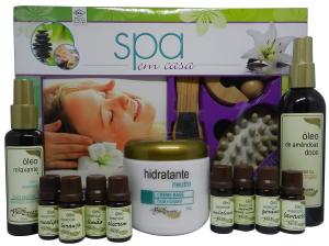Kit de Aromaterapia SPA em Casa Bioexotic + Brinde