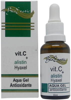 Aqua Gel Facial com Vitamina C, Alistin e Hyaxel 30ml Bioexotic