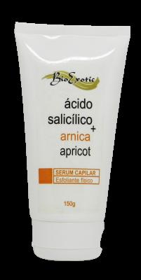 Serum Esfoliante Capilar com Apricot, Ácido Salicílico e Arnica 150g Bioexotic