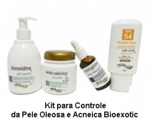 Kit para Controle da Pele Oleosa e Acneica Bioexotic