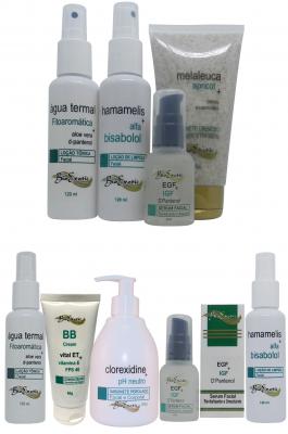 Microagulhamento Facial com Fator de Crescimento - Pele Sensível Bioexotic + Home Care