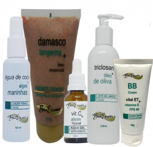 Home Care Revitalização Facial com Vitamina C – Todos os tipos de Pele - Bioexotic