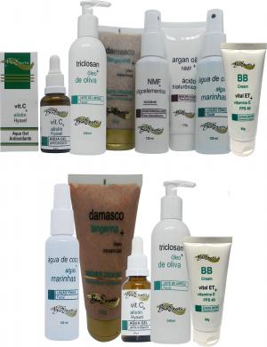 Revitalização Facial com Vitamina C - (Todos os Tipos de Pele) + Home Care Bioexotic