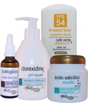 Home Care Acne Control & Oil Control - (Controle da Acne e Oleosidade da Pele)Bioexotic
