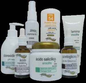 Tratamento  Facial Para Controle da Acne (Acne Control) Bioexotic