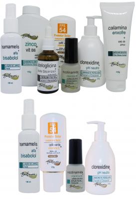Acne Control Facial - (Controle da Acne) - (Peles Sensíveis e Rosácea) + Home Care Bioexotic