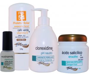 Home Care Antiacne e Clareamento Facial –  Bioexotic