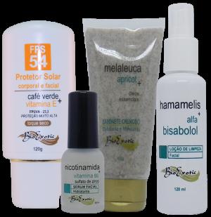 Home Care Clareamento Facial – (Pele Negra e Oleosa) Bioexotic