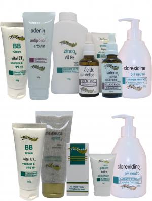 Clareamento Facial – (Pele Negra Normal) + Home Care Bioexotic