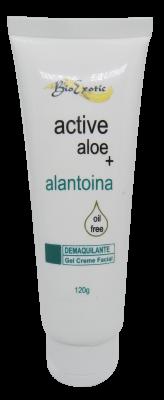 Demaquilante Gel Creme Facial com Active Aloe e Alantoina oil free 120g Bioexotic