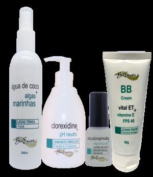 Home Care Limpeza Profunda Facial - (Peles Normais, Sensíveis ou com Rosácea) Bioexotic