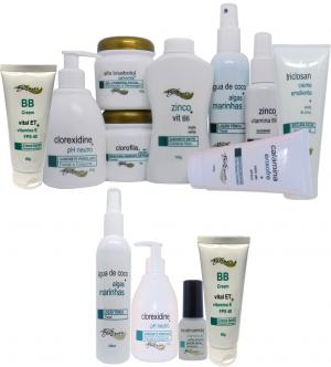 Limpeza Profunda Facial - (Peles Normais, Sensíveis ou com Rosásea) + Home Care Bioexotic