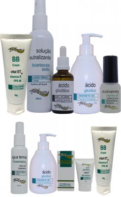 Peeling Facial com Ácido Glicólico + Home Care Bioexotic