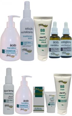 Peeling Facial com Ácido Mandélico + Home Care Bioexotic