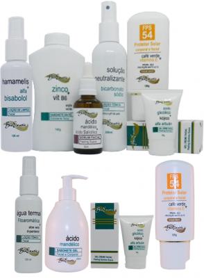 Peeling Facial Ácido Mandélico + Ácido Salicílico + Home Care Bioexotic