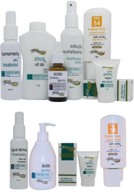 Peeling Facial com Alfabetahidroxiácidos  (Ácido Glicólico + Ácido Salicílico ) + Home Care Bioexotic