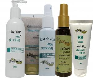 Home Care Facial Para Hidratação e Nutrição com AGE ( Ácidos Graxos Essenciais) - Pele SecaBioexotic