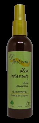 Óleo para Banho e Massagem Corporal Relaxante com Óleos Essenciais Vegano - Bioexotic